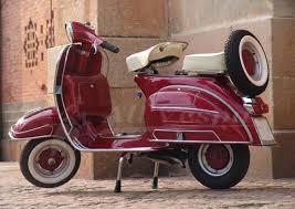 Vespa Candy Apple Red Vbc 150cc 1965