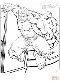 Click The Avengers Hulk Coloring Pages