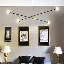 modern pendant lights nordic metal geometric line pendant ls