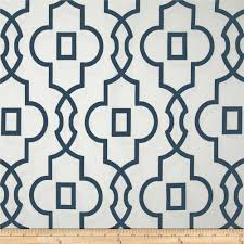 Navy Geometric Pattern Curtains by Carolina On My Mind Master Bedroom Makeover Part 2 Premier