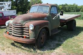 100 53 Chevy Truck For Sale 19 Chevrolet 6400 Flatbed Dump Truck Item H7318 10302013