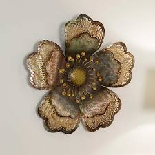 Metal Wall Decor Target by Mesmerizing Metal Flower Wall Decor Target Asataire Flower Blossom