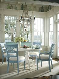 Coastal Living Cottage Dining Room Tropical Dining Room