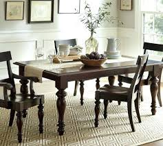 Pottery Barn Dining Room Sets Extending Table Extends Via Leaves In The Middle Not On