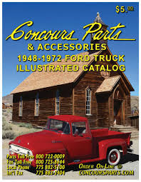 1948-1972 Ford Truck Parts 2016 By Concours Parts