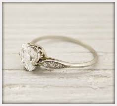 Jewelry Vintage Tiffany Engagement Rings For Simple And Elegant Look