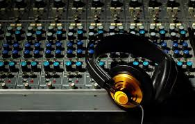 Wallpaper Mixer Headphones Volume Music Sound Recording Studio Wallpapers