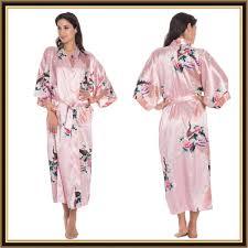 kimono robe de chambre femme peignoir kimono femme en satin topiwall