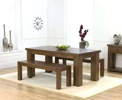 Kitchen Table With Bench Set Modish Rustic Elegant Dining Room Tables