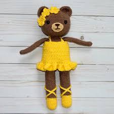 Free Crochet Bear Ballerina Pattern Thefriendlyredfoxcom