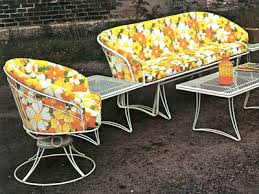 Vintage Homecrest Patio Furniture by Color Stories Vintage Wire Fabrics Homecrest Outdoor Living