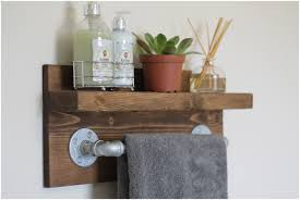 bathroom white wood bathroom shelf with towel bar 1000 ideas