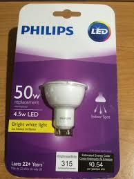 philips 423418 4 5 watt 50 watt airflux mr16 led indoor flood