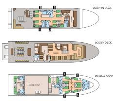 Star Princess Baja Deck Plan by Galapagos Dive Cruise Wild Earth Travel
