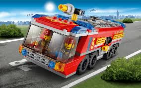 60061 Airport Fire Truck - Wallpapers - LEGO® City - LEGO.com US