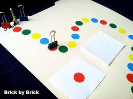 DIY Board Game Brick By
