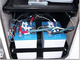 A Typical Pair Of Coach Batteries That You Might Find On An RV And Their