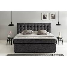 boxspringbett perris mit visco topper