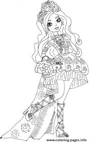 Spring Unsprung Briar Beauty Ever After High Coloring Pages