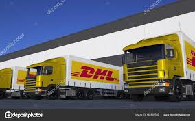 Freight Semi Trucks With DHL Express Logo Loading Or Unloading At ... Dhl Truck Editorial Stock Image Image Of Back Nobody 50192604 Scania Becoming Main Supplier To In Europe Group Diecast Alloy Metal Car Big Container Truck 150 Scale Express Service Fast 75399969 Truck Skin For Daf Xf105 130 Euro Simulator 2 Mods Delivery Dusk Photo Bigstock 164 Model Yellow Iveco Cargo Parked Yellow Delivery Shipping Side Angle Frankfurt