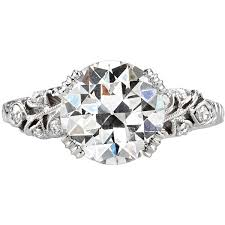 Pre owned Vintage Old European Cut Diamond Engagement Ring 275 430