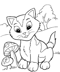 Coloring Pages Coloring Pages Kitten Kittens Page Coloring Pages