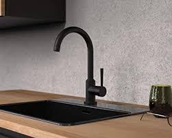 gimili wasserhahn küche schwarz ausziehbar küchenarmatur