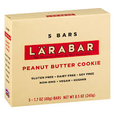 Larabar Gluten Free Bar Peanut Butter Cookie 1 7 oz Bars 5