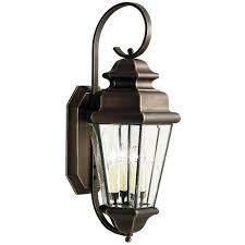 Home Depot Canada Dining Room Light Fixtures by Lithonia Lighting Dusk To Dawn Wall Mount Outdoor Bronze Led
