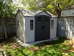 Lifetime 15x8 Shed Sams by Simple Outdoor Storage Design With Ivory Gray Polyethylene Storage