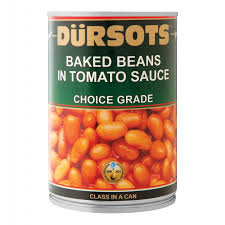 Dursots Baked Beans In Tomato Sauce 3Kg