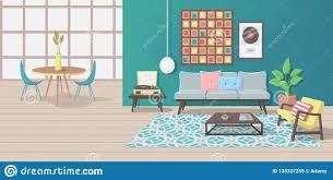 100 Modern Interior Magazine With Furniture And Minimalist Design Stock