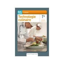 technologie cuisine technologie culinaire tle bac pro cuisine béarn parents d elèves