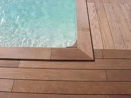 margelle piscine en bois margelles de piscine bois comment les choisir