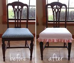 Dining Room Beautiful Chair Seat Covers Ideas