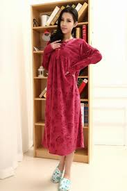 women nightgown housedress plus size maternity sleepwear sleeping gown