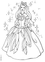 Elegant Free Barbie Coloring Pages 30 For Your Adults With