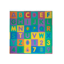 Skip Hop Foam Tiles Formamide by Foam Floor Alphabet And Number Puzzle Mat Tracy Grammer Toys