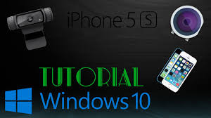 HOW TO USE YOUR IPHONE S CAMERA AS A WEBCAM FOR YOUR PC WINDOWS