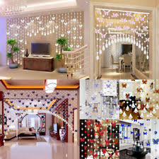 Glass Bead Curtains For Doorways by Beaded Curtains Bamboo Crystal And Metal Ebay
