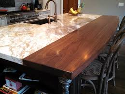 Walnut Countertops - J. Aaron Fniture Mesmerizing Butcher Block Countertops Lowes For Kitchen Bar Top Ideas Cheap Gallery Of Fresh Wood Countertop Counter Tops Antique Reclaimed Lumber How To Stain A Concrete Using Ecostain Bar Stunning 39 Your Small Home Decoration Diy Drhouse Custom Wood Top Counter Tops Island Butcher Block Live Edge Workshop Brazilian Cherry Blocks Blog Countertops Island Pretty Inspiration 20 To Build A Drop Leaf