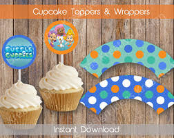 Bubble Guppies Cake Decorating Kit by Bubble Guppies Party Etsy