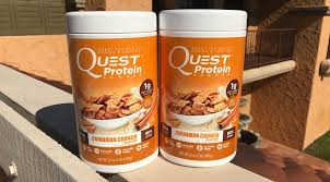 Whats In Quests New Cinnamon Crunch Protein Powder