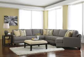 modern 5 piece sectional sofa with right cuddler reversible seat