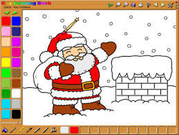 Coloring Pages Printable Best Picture Kids Painting Games Free Download For Preschool Children Application Santa