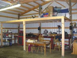 how to frame a loft loft in pole barn general discussion