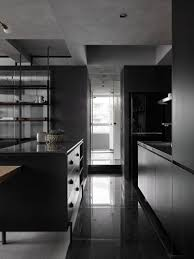 100 Studio Designs KC Design A Moody Black Apartment For A Single Person