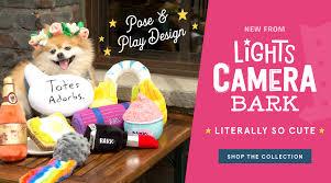shop collections of dog toys beds collars u0026 more barkshop