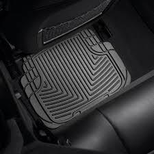 2013 Chevy Impala Floor Mats by Weathertech W50 All Weather 2nd Row Black Floor Mats