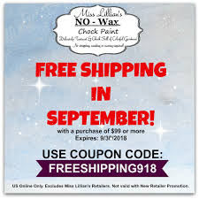 FREE SHIPPING IN... - Miss Lillian's NO WAX Chock Paint ... Qvc Coupon Code 2013 How To Use Promo Codes And Coupons For Qvccom Personal Creations Discount Coupon Codes Knight Coupons Center Competitors Revenue Employees Personal Website Michaels Bath Body Works 15 Off 40 10 30 5 Btn Code Steam Game Employee Perks Human Rources Uab Talonone Update Feed Help Lions Deal Free Shipping Ldon Drugs Policy Bubble Shooter Promo October 2019 Erin Fetherston Shipping Pizza Hut Eat24 Brand Deals